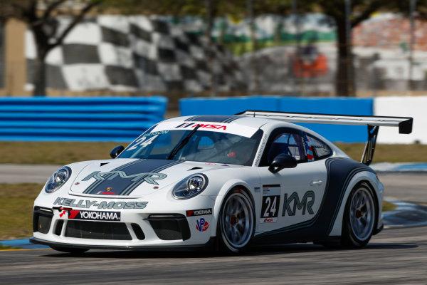 2017 Porsche GT3 Cup USA Sebring International Raceway, Sebring, FL USA Friday 17 March 2017 24, Jake Eidson, GT3P, USA, 2017 Porsche 991 World Copyright: Jake Galstad/LAT Images ref: Digital Image lat-galstad-SIR-0317-14848