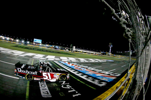 NASCAR Camping World Truck Series North Carolina Education Lottery 200 Charlotte Motor Speedway, Concord, NC USA Friday 19 May 2017 Kyle Busch, Cessna Toyota Tundra World Copyright: Matthew T. Thacker LAT Images ref: Digital Image 17CLT1mt1242
