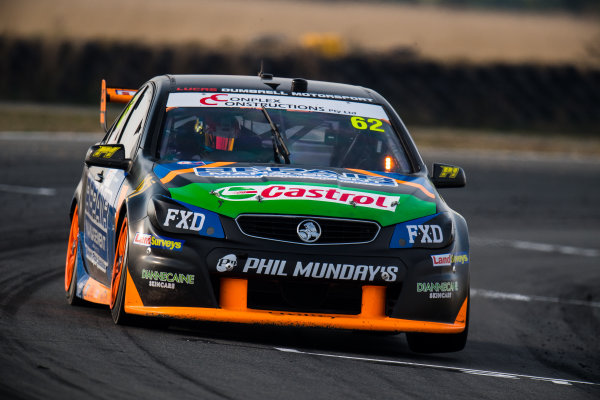 2017 Supercars Championship Round 2.  Tasmania SuperSprint, Simmons Plains Raceway, Tasmania, Australia. Friday April 7th to Sunday April 9th 2017. Alex Rullo drives the #62 LD Motorsport Holden Commodore VF. World Copyright: Daniel Kalisz/LAT Images Ref: Digital Image 070417_VASCR2_DKIMG_1608.JPG