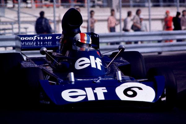 1973 Monaco Grand Prix.Monte Carlo, Monaco.31/5-3/6 1973.Francois Cevert (Tyrrell 006 Ford) 4th position.World Copyright - LAT Photographic