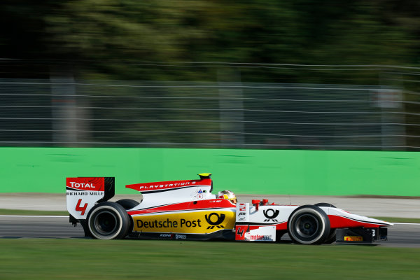 2013 GP2 Series. Round 9.  Autodromo di Monza, Monza, Italy. 6th September.  Friday Qualifying.  Daniel Abt (GER, ART Grand Prix). Action.  World Copyright: Alastair Staley/GP2 Media Service. ref: Digital Image _R6T2372.jpg