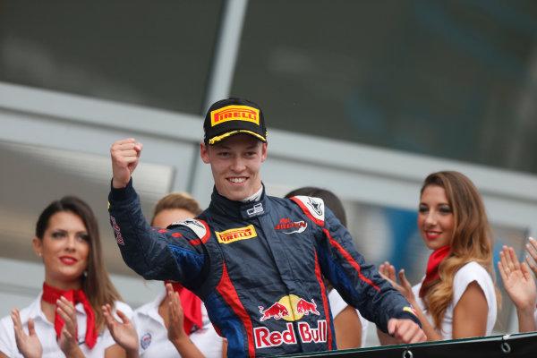 2013 GP3 Series. Round 7.  Autodromo di Monza, Monza, Italy. 8th September.  Sunday Race. Daniil Kvyat (RUS, MW Arden) World Copyright: Andrew Ferraro/GP3 Media Service. ref: Digital Image _79P2814.JPG