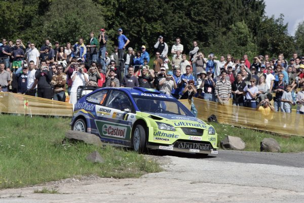 FIA World Rally Championship 2007Round 10Rally Deutschland, Germany.Trier, Germany.16th - 19th August 2007Marcus Gronholm, Ford, action.Worldwide Copyright: McKlein/LAT