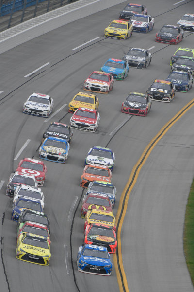 29 April-1 May, 2016, Talladega, Alabama USA  Matt Kenseth, Dollar General Toyota Camry, Michael Waltrip, Kyle Busch, Skittles Marvel Toyota Camry, Martin Truex Jr, Bass Pro Shops/Tracker Boats Toyota Camry ?2016, Logan Whitton  LAT Photo USA