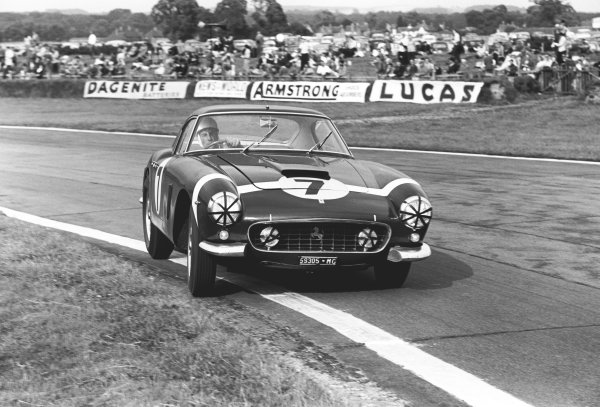 Goodwood, West Sussex, Great Britain. 20th August 1960.
