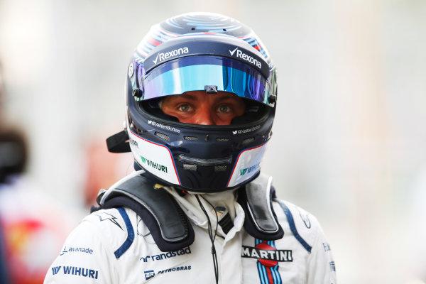 Baku City Circuit, Baku, Azerbaijan. Saturday 18 June 2016. Valtteri Bottas, Williams Martini Racing.  World Copyright: Steven Tee/LAT Photographic ref: Digital Image _X0W1120