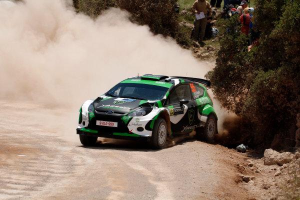 Round 06 - Rally Acropolis Greece. 24-27 May 2012. Yazeed Al Rahji, Ford Fiesta S2000, Action. Worldwide Copyright: McKlein/LAT