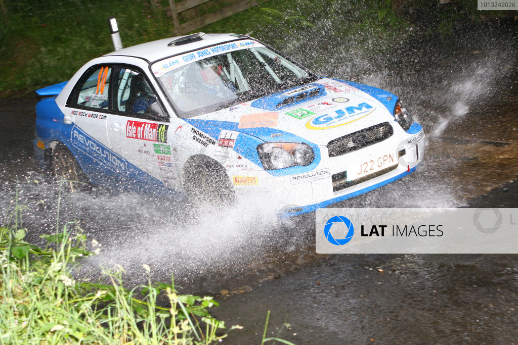 Manx International Rally 2008, 17th-19th July 2008James Wozencroft/Chris Ridge Subaru ImprezaWorld Copyright: Ebrey/LAT Photographic