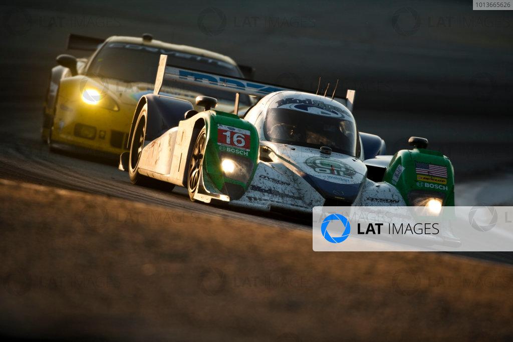 American Le Mans Series. Laguna Seca, Monterey, California. 15th - 17th September 2011. Chris Dyson / Guy Smith, Dyson Racing Team Inc, Lola B09/86. Action. Photo: Drew Gibson/LAT Photographic. ref: Digital Image _Y2Z7008
