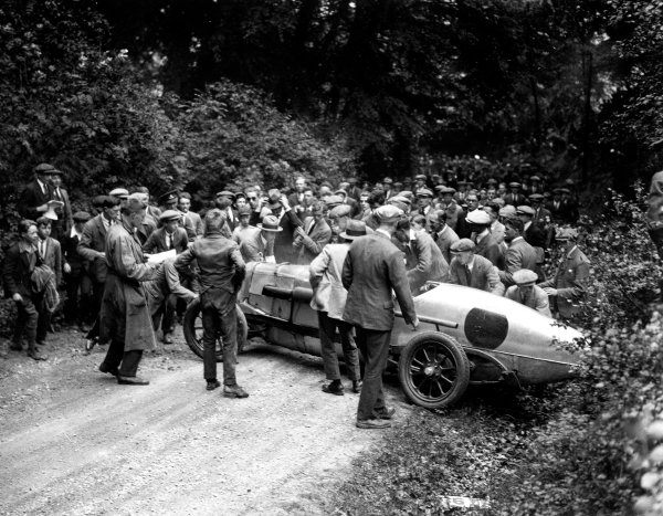 1924 Surbiton Club Hillclimb.