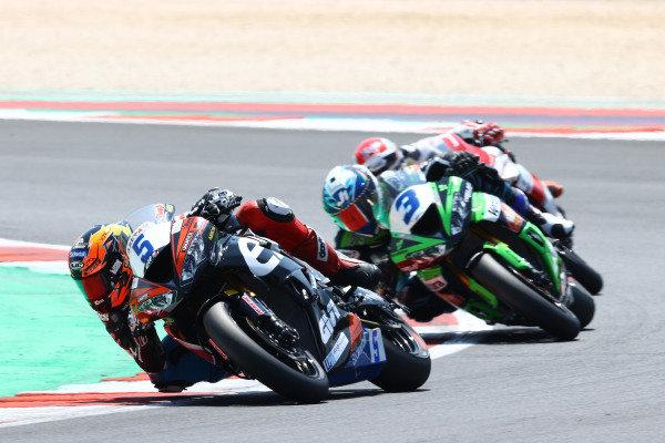 Philipp Oettl, Kawasaki Puccetti Racing, Raffaele De Rosa, Orelac Racing VerdNatura, Randy Krummenacher, EAB Racing Team.