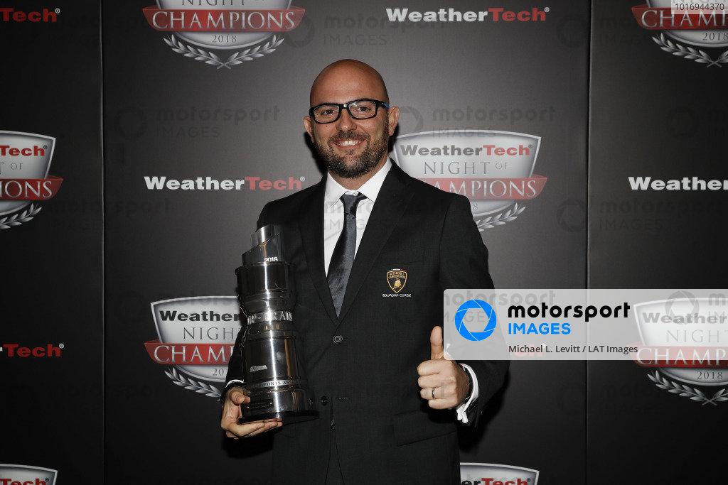 2018 WeatherTech Night of Champions, Giorgio Sanna, Lamborghini