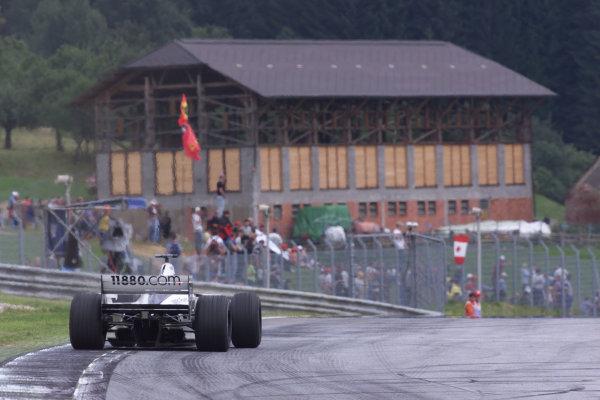 2000 Austrian Grand Prix.A1-Ring, Zeltweg, Austria.14-16 July 2000.Jenson Button (Williams FW22 BMW) 5th position.World Copyright - LAT Photographic