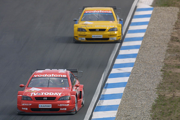 2002 DTM Championship Race.