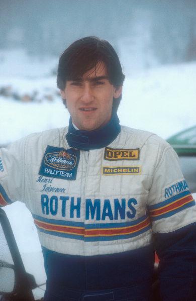 World Rally Championship.Henri Toivonen (Opel).World Copyright - LAT Photographic