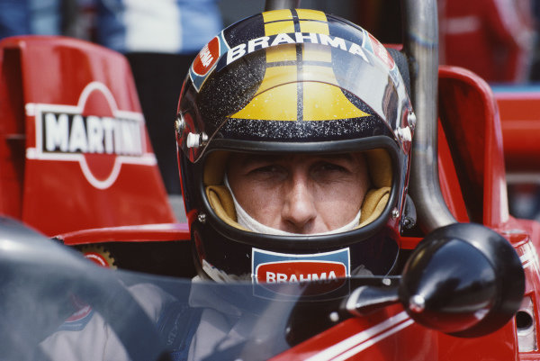 Carlos Pace, Brabham BT45 Alfa Romeo, during practice.