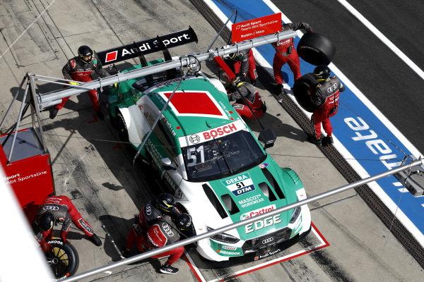 Nico Müller, Audi Sport Team Abt Sportsline, Audi RS 5 DTM, pitstop.