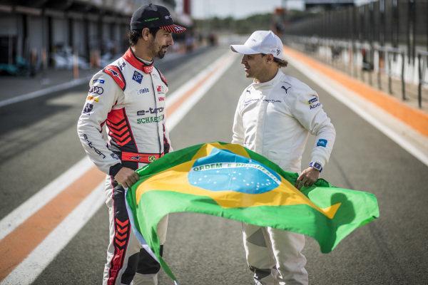 Brazilian Lucas Di Grassi (BRA), Audi Sport ABT Schaeffler and Felipe Massa (BRA), Venturi
