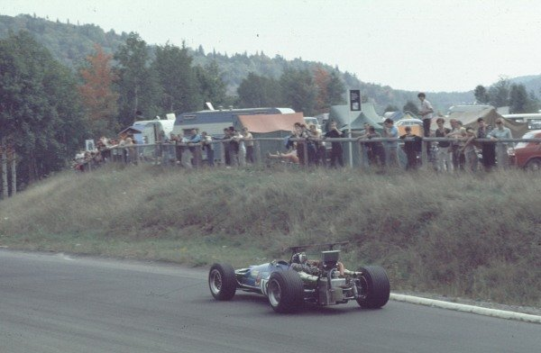 1968 Canadian Grand Prix.Mont-Tremblant, (St. Jovite), Quebec, Canada.20-22 September 1968.Jean-Pierre Beltoise (Matra MS11).Ref-68 CAN 33.World Copyright - LAT Photographic