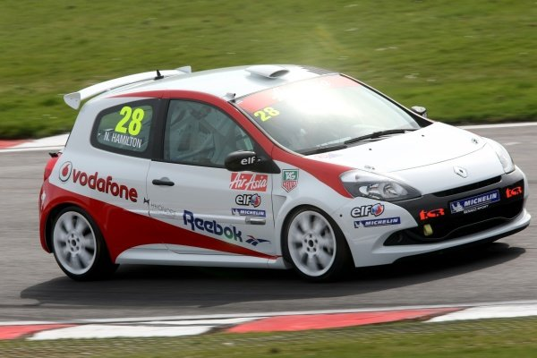 Nicolas Hamilton (GBR), Total Control Racing, making his Renault Clio Cup racing debut this weekend. Renault Clio Cup, Rd1, Brands Hatch, England, 2 April 2011.