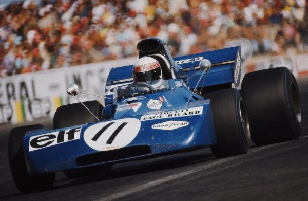 Jackie Stewart, Tyrrell 003 Ford.
