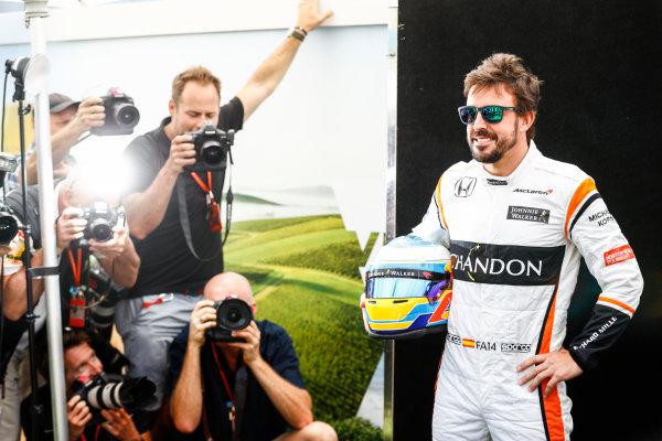 Albert Park, Melbourne, Australia. Thursday 23 March 2017. Fernando Alonso, McLaren. World Copyright: Steven Tee/LAT Images ref: Digital Image _R3I8742