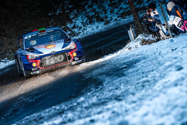 2017 FIA World Rally Championship,  Round 01, Rally Monte Carlo,  January 18-22, 2017,  Hayden Paddon/John Kennard (Hyundai i20 Coupe WRC) Worldwide Copyright: McKlein/LAT