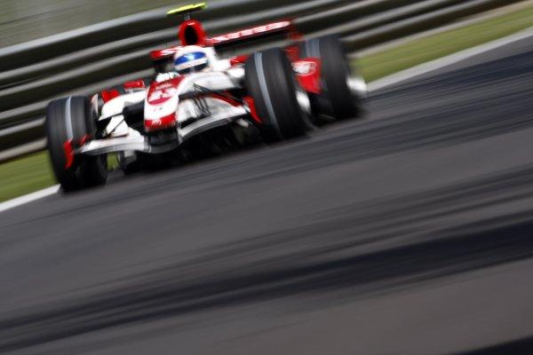 2007 Italian Grand Prix - Friday PracticeAutodromo di Monza, Monza, Italy.7th September 2007.Anthony Davidson, Super Aguri SA07-Honda. Action. World Copyright: Lorenzo Bellanca/LAT Photographicref: Digital Image _64I5152