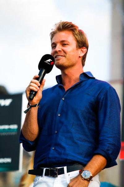 London, United Kingdom.  Wednesday 12 July 2017. World Champion Nico Rosberg. World Copyright: Joe Portlock/LAT Images  ref: Digital Image _L5R8594