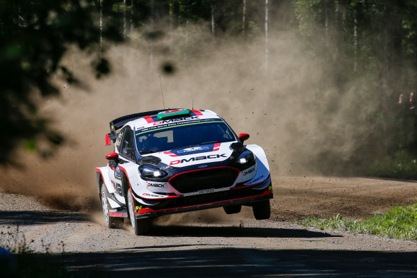 2017 FIA World Rally Championship, Round 09, Rally Finland / July 27 - 30, 2017, Elfyn Evans, Ford WRC, Action  Worldwide Copyright: McKlein/LAT