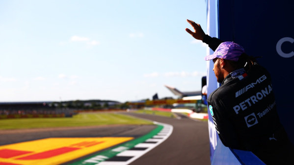 Sir Lewis Hamilton, Mercedes, 2nd position, after the Sprint Qualifying