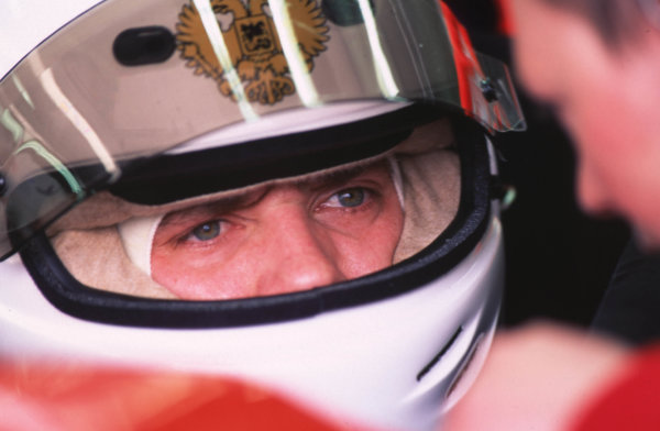 Silverstone, England. 22-23/3/2000. Viktor Maslov. Arden Racing. Portrait. World Copyright: LAT Photographic.