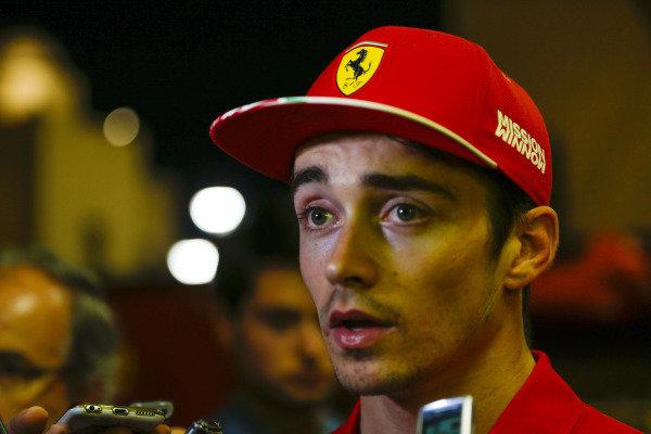 Charles Leclerc, Ferrari.