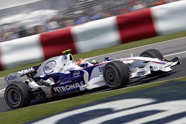 Robert Kubica, BMW Sauber F1.08.