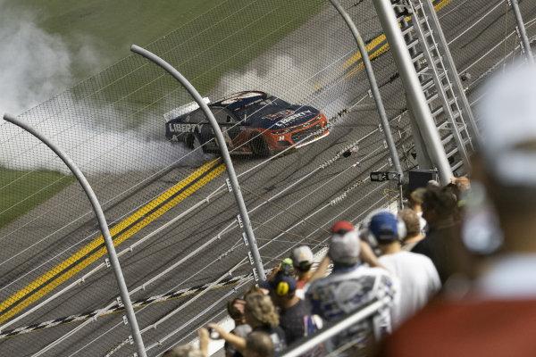 #24: William Byron, Hendrick Motorsports, Chevrolet Camaro Liberty University celebrates his victory