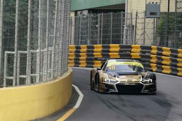 #10 Team WRT Audi R8 LMS: Charles Weerts.
