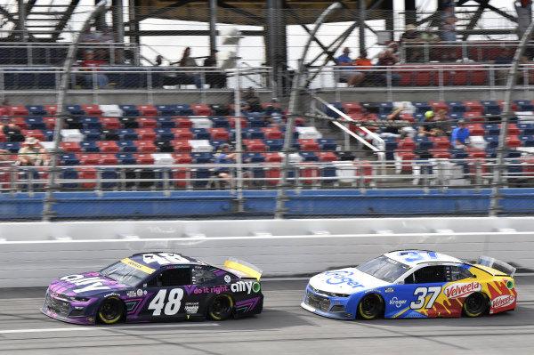 #48: Alex Bowman, Hendrick Motorsports, Chevrolet Camaro Ally, #37: Ryan Preece, JTG Daugherty Racing, Chevrolet Camaro Kroger/ Velveeta