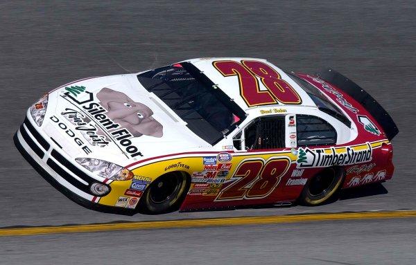 2003 NASCAR Daytona 500 Speedweeks,BGN12,February 2003 Daytona Busch Grand National qualifying 12 Feb 2003-Brad Baker-World Copyright-RobtLeSieur2003LAT Photographic