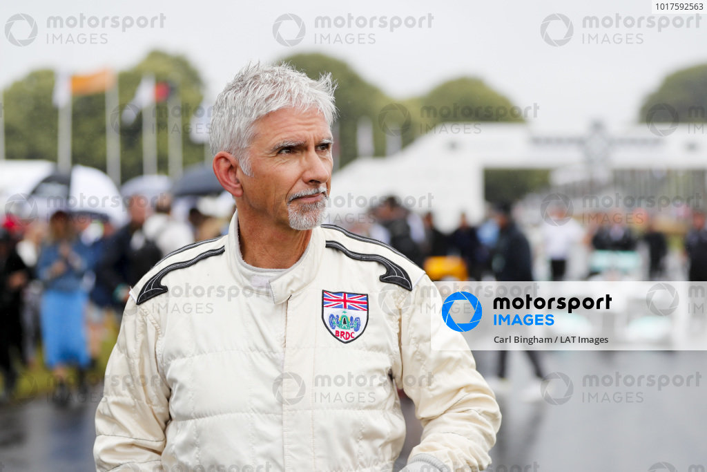 Damon Hill at the Michael Schumacher Celebration