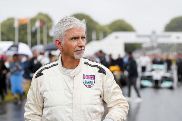 Damon Hill at the Michael Schumacher Celebration