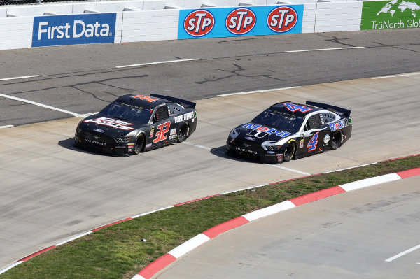 #32: Corey LaJoie, Go FAS Racing, Ford Mustang CorvetteParts.net #4: Kevin Harvick, Stewart-Haas Racing, Ford Mustang Mobil 1