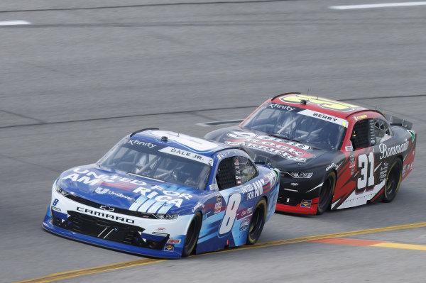 #8: Dale Earnhardt Jr., JR Motorsports, Chevrolet Camaro Unilever United For America, #31: Nemechek, Jordan Anderson Racing, Chevrolet Camaro Bommarito.com/Solid Rock Carriers