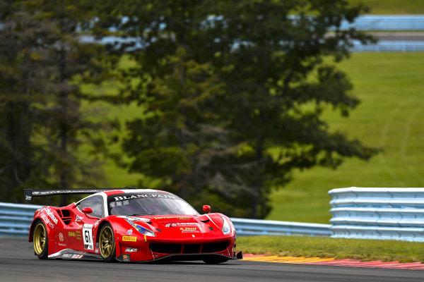 #61 Ferrari 488 GT3 of Daniel Serra and Toni Vilander with R. Ferri Motorsport