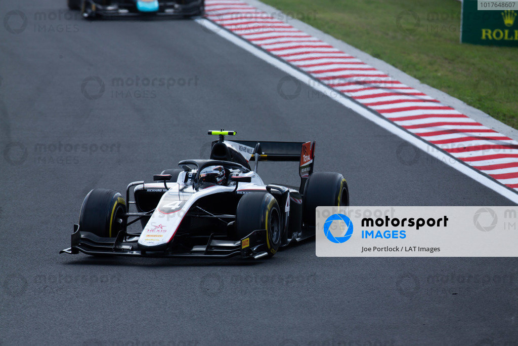 HUNGARORING, HUNGARY - AUGUST 04: Nyck De Vries (NLD, ART GRAND PRIX) during the Hungaroring at Hungaroring on August 04, 2019 in Hungaroring, Hungary. (Photo by Joe Portlock / LAT Images / FIA F2 Championship)