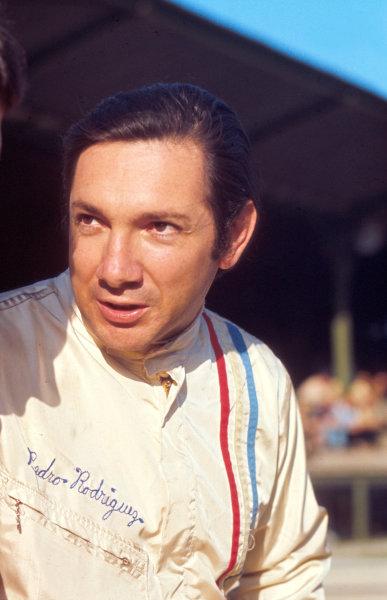 Pedro Rodriguez (BRM).World Copyright - LAT Photographic