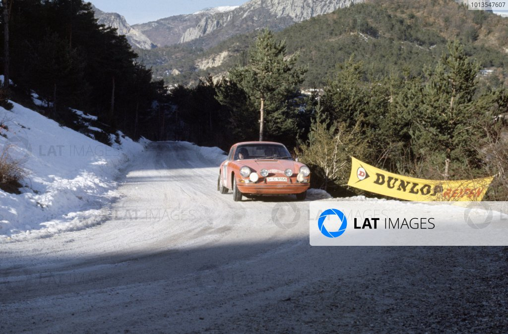 1968 Monte Carlo Rally.