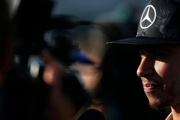 Suzuka Circuit, Suzuka, Japan.  Sunday 27 September 2015. Lewis Hamilton, Mercedes AMG. World Copyright: Alastair Staley/LAT Photographic ref: Digital Image _79P8423