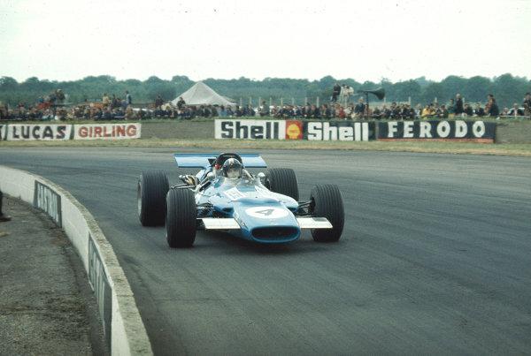 1969 British Grand Prix.Silverstone, England.17-19 July 1969.Jean Pierre-Beltoise (Matra MS84 Ford) 9th position.Ref-69 GB 31.World Copyright - LAT Photographic