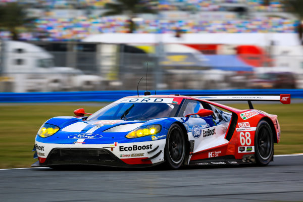 5-8 January, 2017, Daytona Beach, Florida USA 68, Ford, Ford GT, GTLM, Billy Johnson, Stefan Mucke, Olivier Pla ©2017, Barry Cantrell LAT Photo USA