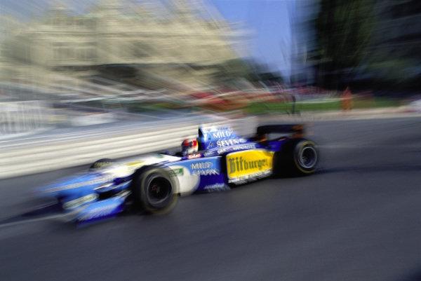 Michael Schumacher, Benetton B195 Renault.